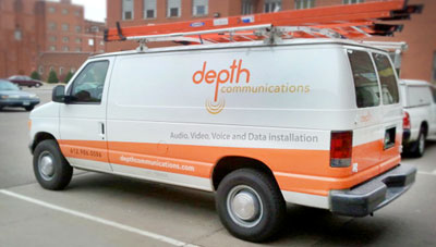 Depth Communications Van
